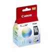 CANON 2976B001 (CL-211) Color Ink Cartridge