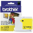 BROTHER LC51Y Yw Ink Ctg 400 Yld