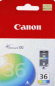 CANON 1511B002 CLI-36  Color Ink Tank