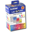 BROTHER LC513PKS Clr Ink Multipack