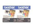 BROTHER LC512PKS Bk Ink 2Pk