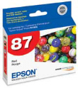 EPSON T087720 Rd Ink Ctg