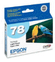 EPSON T078520 Lt Cy HiDef Ink Ctg