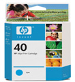 HP 51640C 40 Cy Ink Ctg