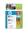 HP C9349FN 97 TriClr Ink 2Pk