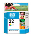 HP C9352AN 22 TriClr Ink Ctg