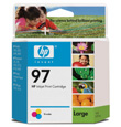 HP C9363WN 97 TriClr Large Ink Ctg