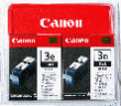 CANON 4479A271 BCI-3eBk Twin Pack Black