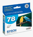 EPSON T078220 Cy HiDef Ink Ctg