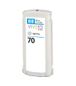 HP CB342A 70 Lt Gy Ink 2Pk